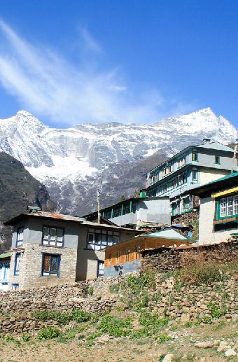 Trekking into the Everest