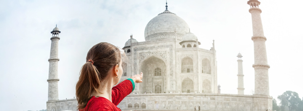 Taj Mahal - A part of Incredible India
